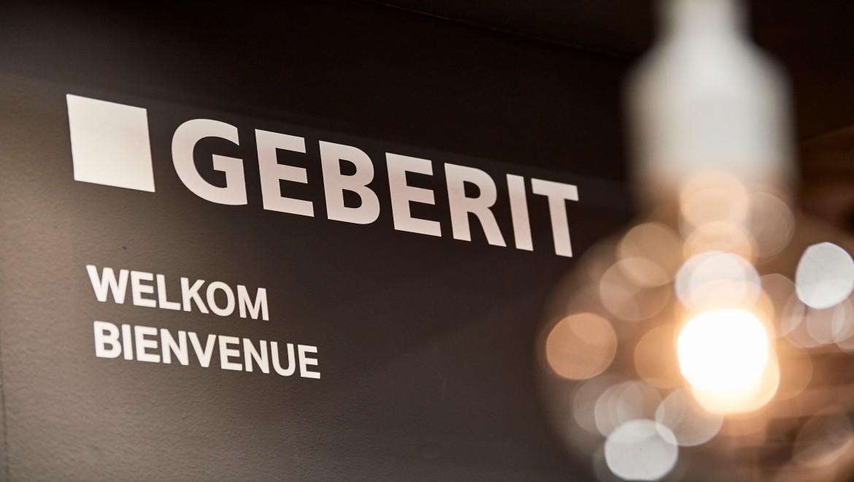 Bienvenus sur le stand de Geberit.